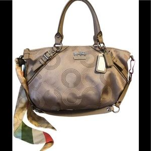 Coach Satchel Sophia Madison Op Art